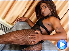 Horny black shemale from Los Angeles