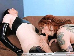 Brittany St. Jordan gives up her ass like a champ while Jamie rides her all the way into your wildest fantasies!