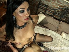 Vanitopia: Her cock is so desired but can you handle it? Her had thick, pounding cock that doesn't care about you or your aching ass. Vaniity is