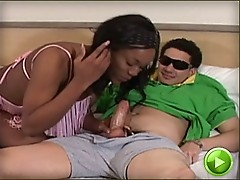 black tgirl gets fucked by her boyfriend