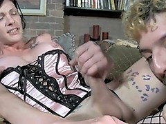 Hot tgirl Morgan Bailey gets her juicy cock sucked