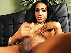 Horny Persia Playing With Her Stiffy