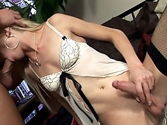 Tranny UK Karla Fucking Her American Escort Client