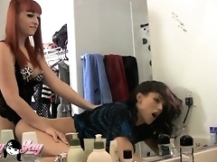 Irresistible Bailey Jay banging Domino hard and rough