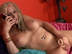Curly Jazzmen Posing And Masturbating