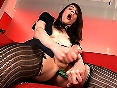Hot Tranny Mandy Having Fun With Her Toy