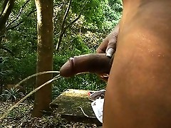 Sweet Rebeka stripping and peeing outdoors