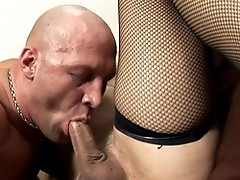 Chris Sucking Melissa's Big Hard Cock