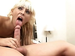 Hot tranny loves to get her tight ass fucked in this video