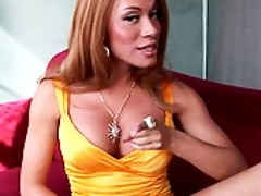 Busty Mia Isabella giving an interview