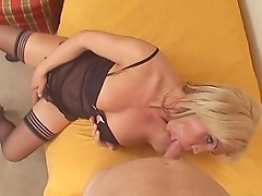 Hung Tranny Babe Gets Her Cock Sucked & Her Tight Ass Fucked